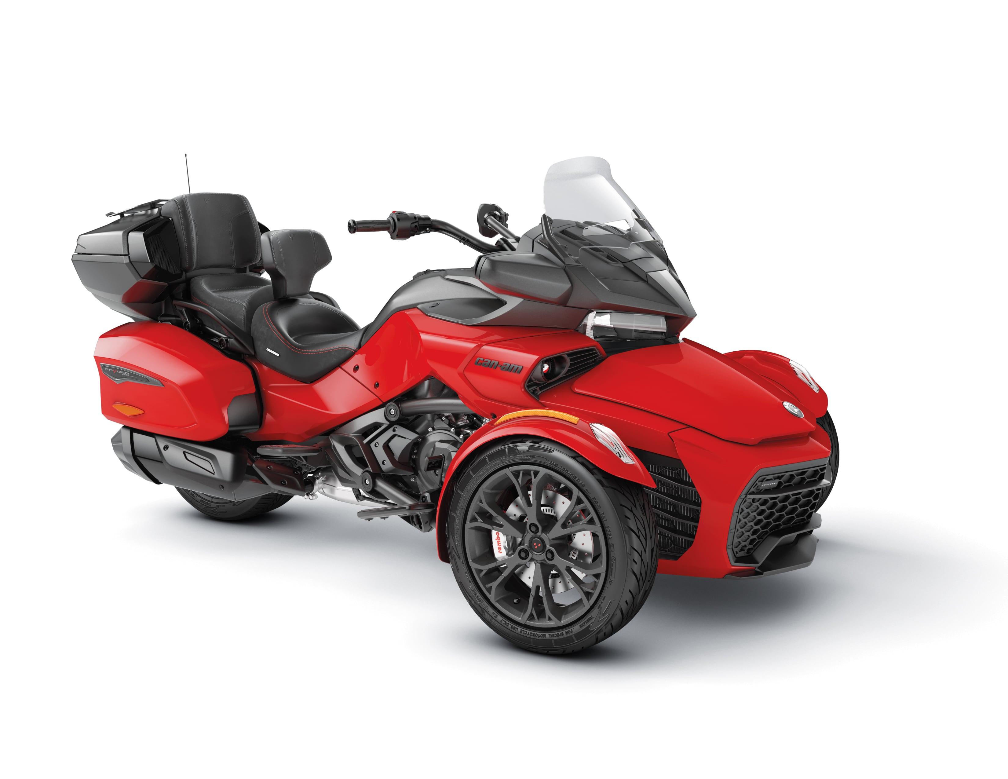 SPYDER F3 LTD 1330ACE SE6 VIPER RED 2022