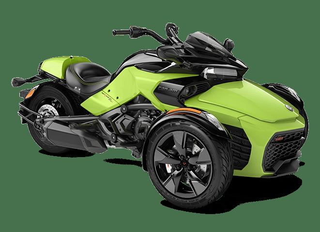 SPYDER F3S 1330 ACE MANTA GREEN 2022