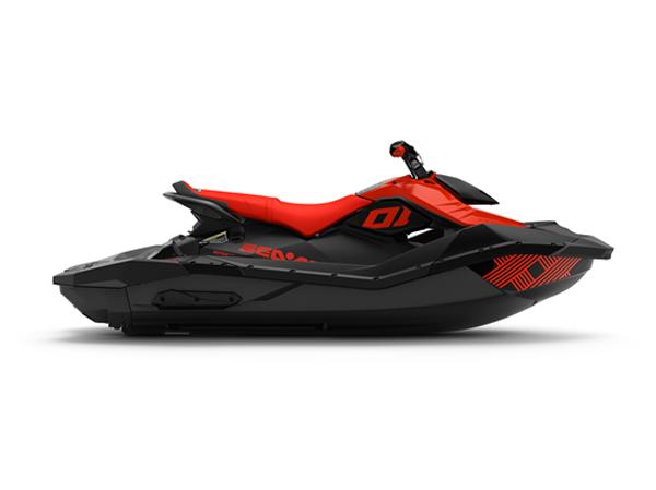 SPARK 3PL IBR TRIXX 90 LAVA RED & DEEP BLACK 2021