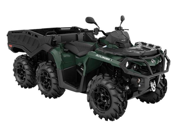 OUTLANDER 6X6 XU+T 650 SIDE WALL T2B BOREAL GREEN 2021
