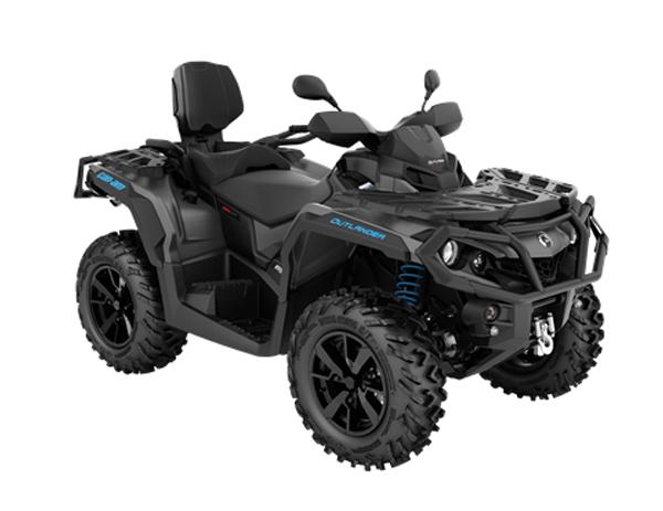 CAN-AM OUTLANDER MAX XT T 650 T3B IRON GRAY & OCTANE BLUE 2021