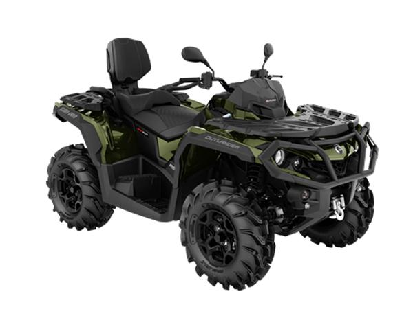 OUTLANDER MAX XU+T 1000 T3B BOREAL GREEN 2021