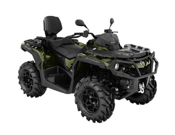 OUTLANDER MAX XU+ T 650 T3B BOREAL GREEN 2021