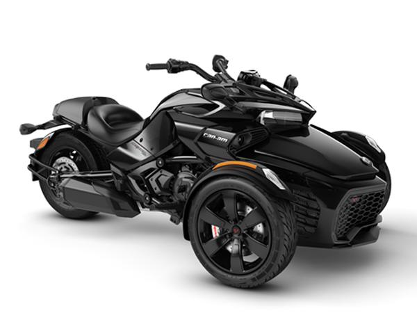 CAN-AM SPYDER F3 STD 1330 ACE STEEL BLACK METALLIC 2021
